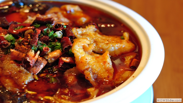 Szechuan Fish Big Bowl